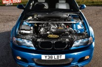 Blair's 357ci Stars on front cover of Performance BMW Magazine