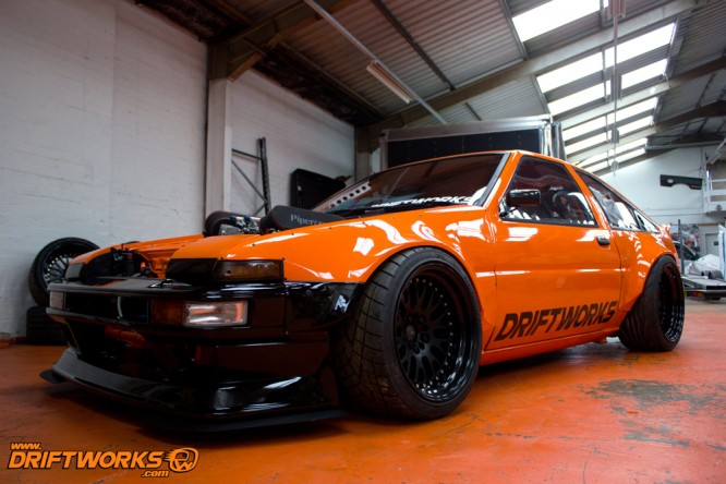 DW86 ready for the Autosport show.